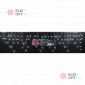 Светодиодная бахрома RICH LED (3х0.9 м) мерцающая прозр.пров. белый