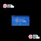 Светодиодный дождь RICH LED (2х1.5 м) прозр. пров. синий