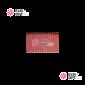 Светодиодный дождь Rich LED 2х9м провод черный, цвет красный
