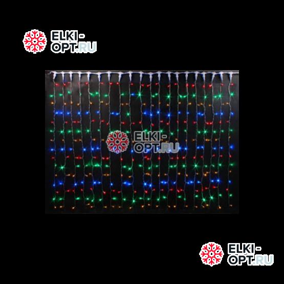 Светодиодный дождь RICH LED (2х9 м) мультиколор