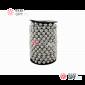 Бусы пластиковые d-10мм цвет серебро