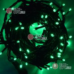 Светодиодная гирлянда  24V 10м цвет зеленый 10шт х  952руб