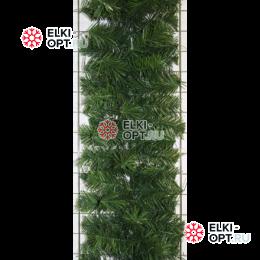 Еловая гирлянда d-25см цвет зеленый длина 2,7м  10шт х510руб