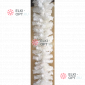 Еловая гирлянда d-28см цвет белый длина 2,7м  8шт х1020руб