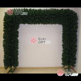 Еловая арка d-50см цвет зеленый размер 2,3м х 2,5м 2шт х12750руб