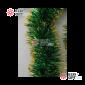 Мишура Московская d-5см цвет зеленый с золотом длина 2м  100шт х21руб