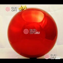 Шар d-25см цвет красный глянец 6шт х 655руб