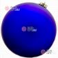 Шар d-15см цвет синий матовый 1шт/уп ( 36шт х 160руб)
