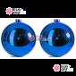 Шары d-12см цвет синий глянец 24уп х 187руб