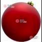 Шар пластиковый 15см цвет красный матовый