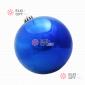 Шар пластиковый 15см цвет синий глянец