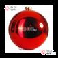 Шар d-20см цвет красный глянец