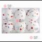 Набор елочных шаров 7см цвет белый